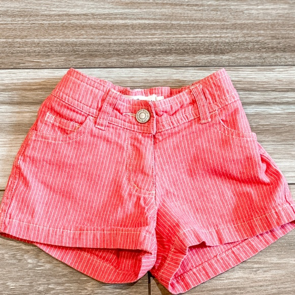 Mini Boden Other - Mini Boden Red Heart Pocket Jean Shorts Size 18M